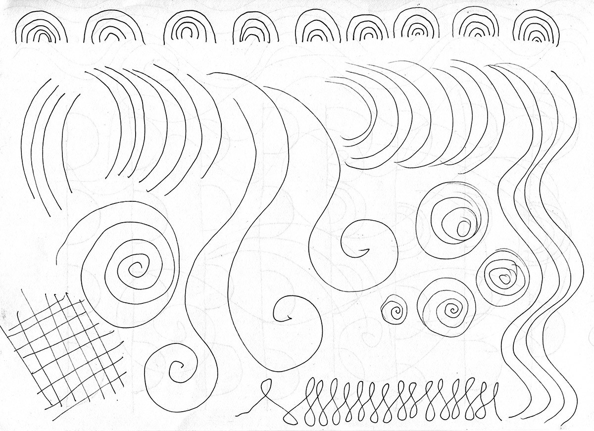 Curved Lines Exercises