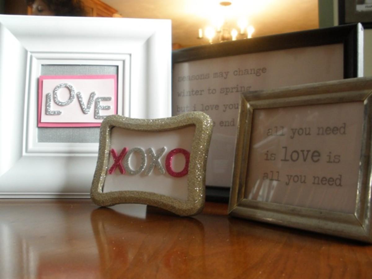 love message frames