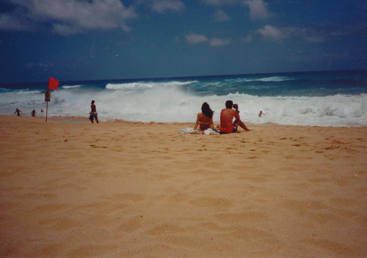 Sandy Beach, Hawaii.  It is called the deadliest beach in HI.