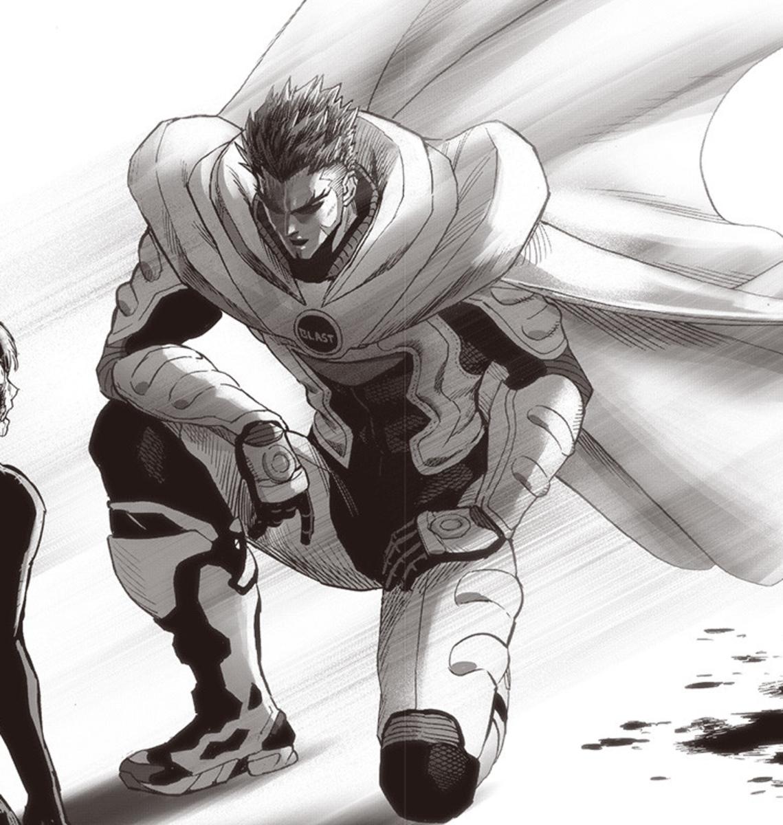 Blast in the One-Punch manga