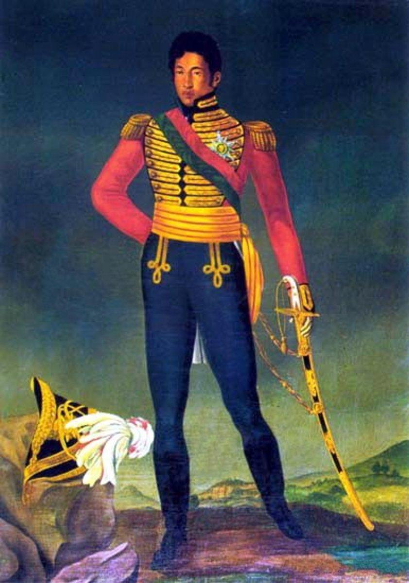 King Radama I.