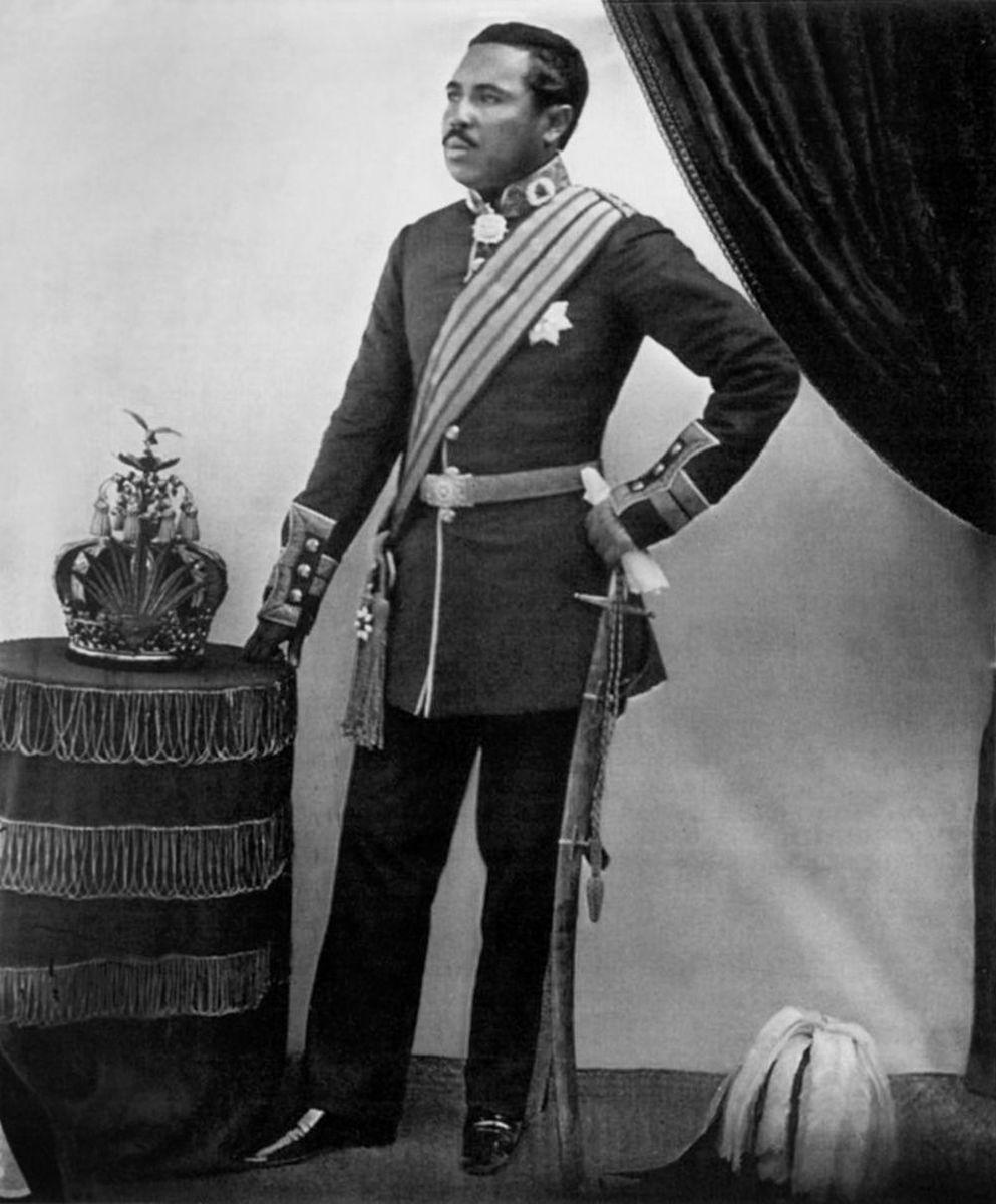 Crown Prince Rakoto, soon to be King Radama II, also soon to be bumped off.