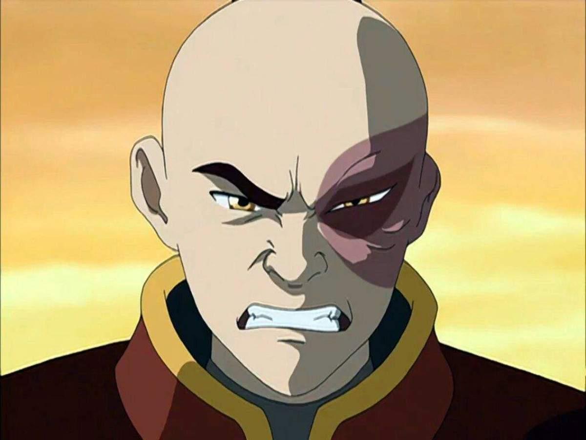 Prince Zuko in Avatar: The Last Airbender