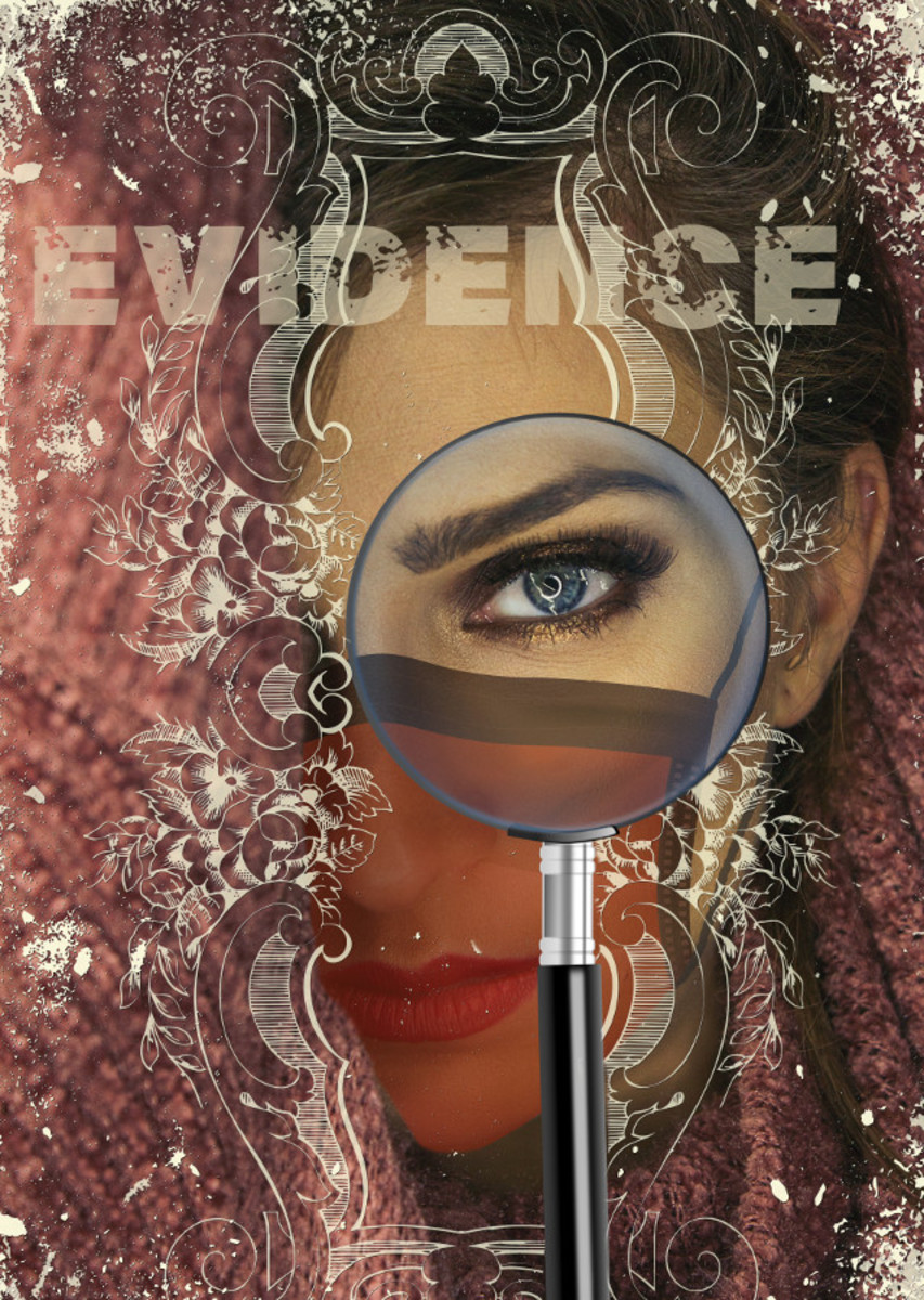 Image symbolizing the search for evidence compiled by Robert G. Kernodle