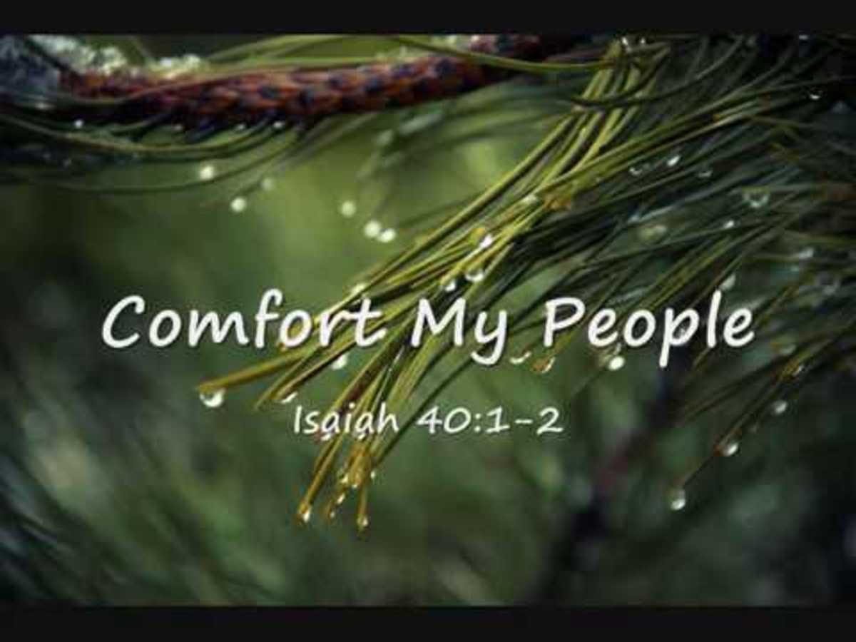 God's Comfort for His People- Isaiah 40