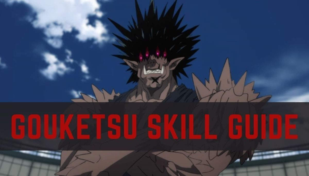 "Gouketsu's Skills in ""One Punch Man: The Strongest"""
