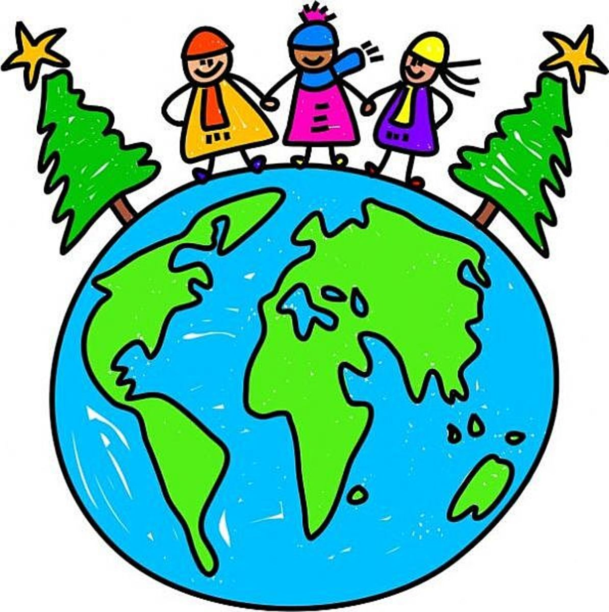 Children around the world love the Christmas season.