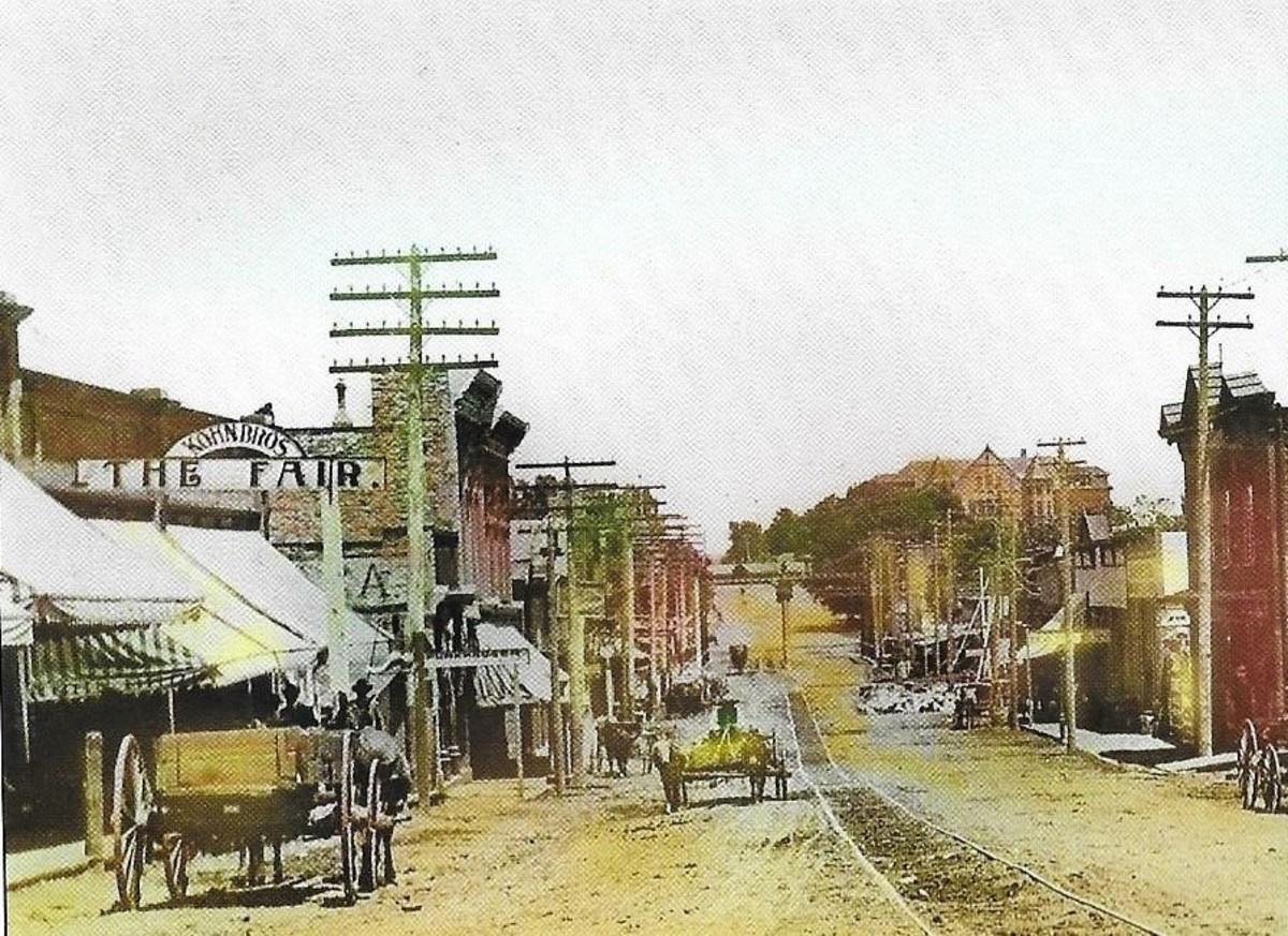 Bridge Street Circa 1895