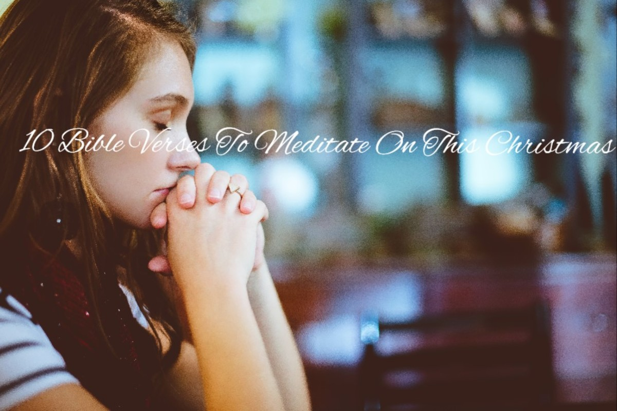 10 December Bible Verses to Meditate on this Christmas