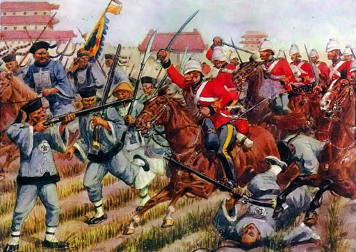 Opium War and downfall of China