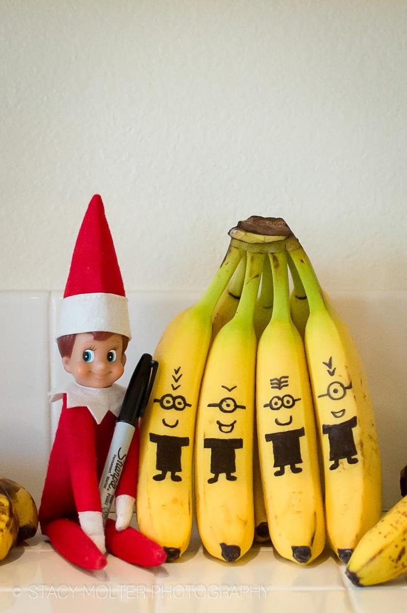 Celebrities Remake Elf on a Shelf Challenge