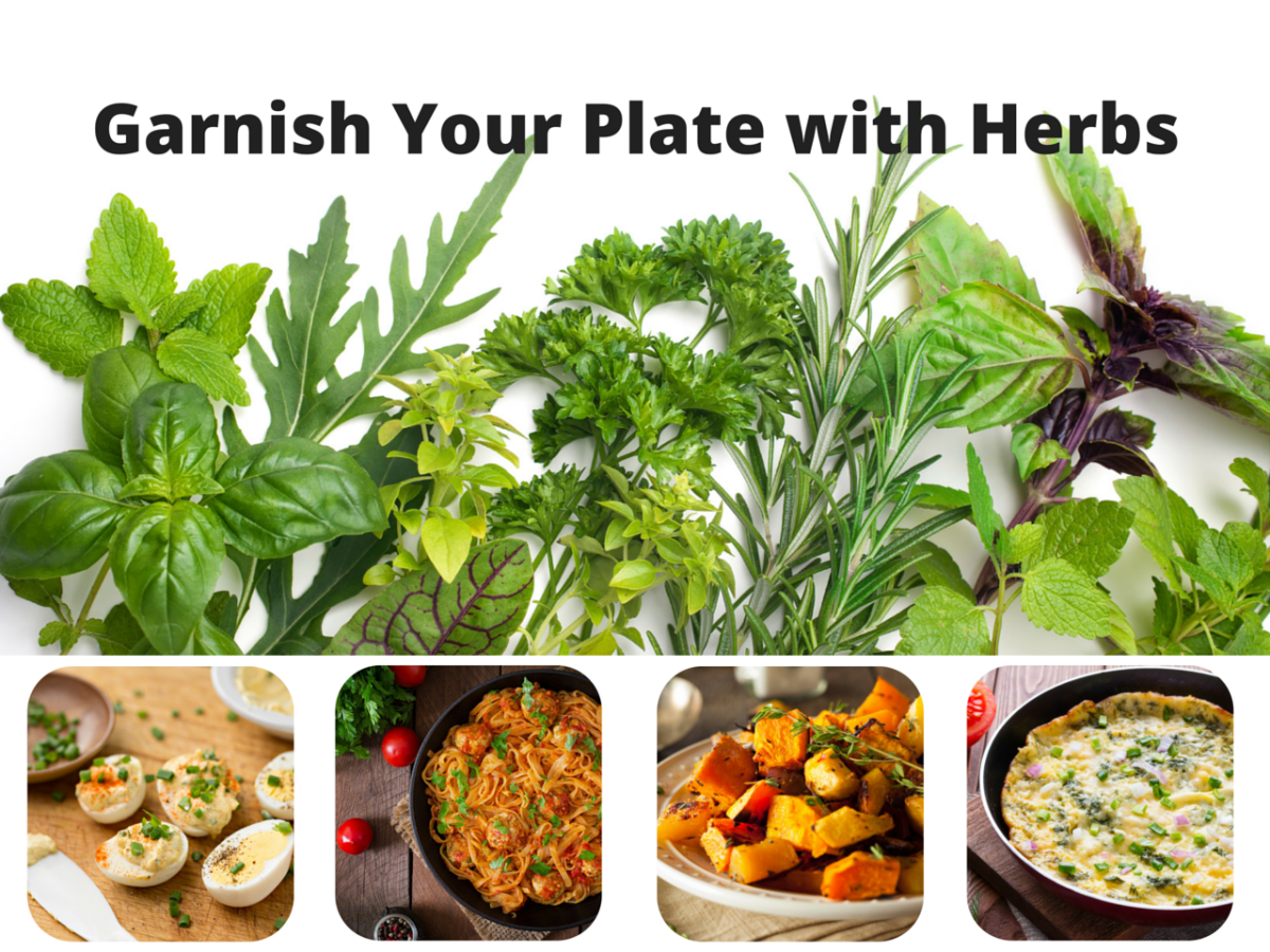 Enhance Food With Fresh Herbs and Flowers