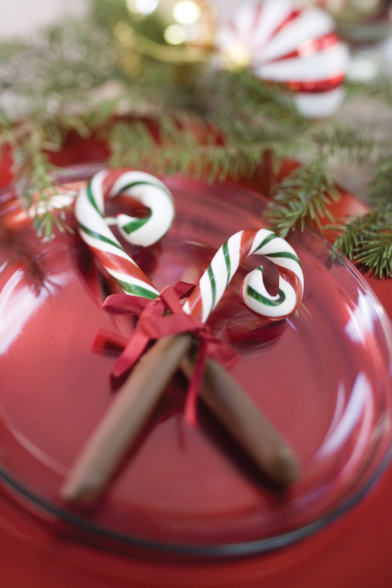 Chocolate dipped candy canes are a great project to do with kids, and are an excellent gift for the holiday season.