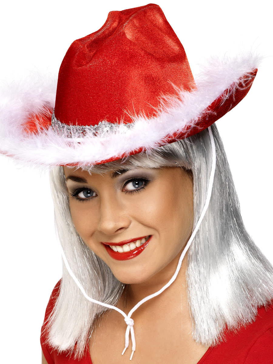 Western Christmas Hat