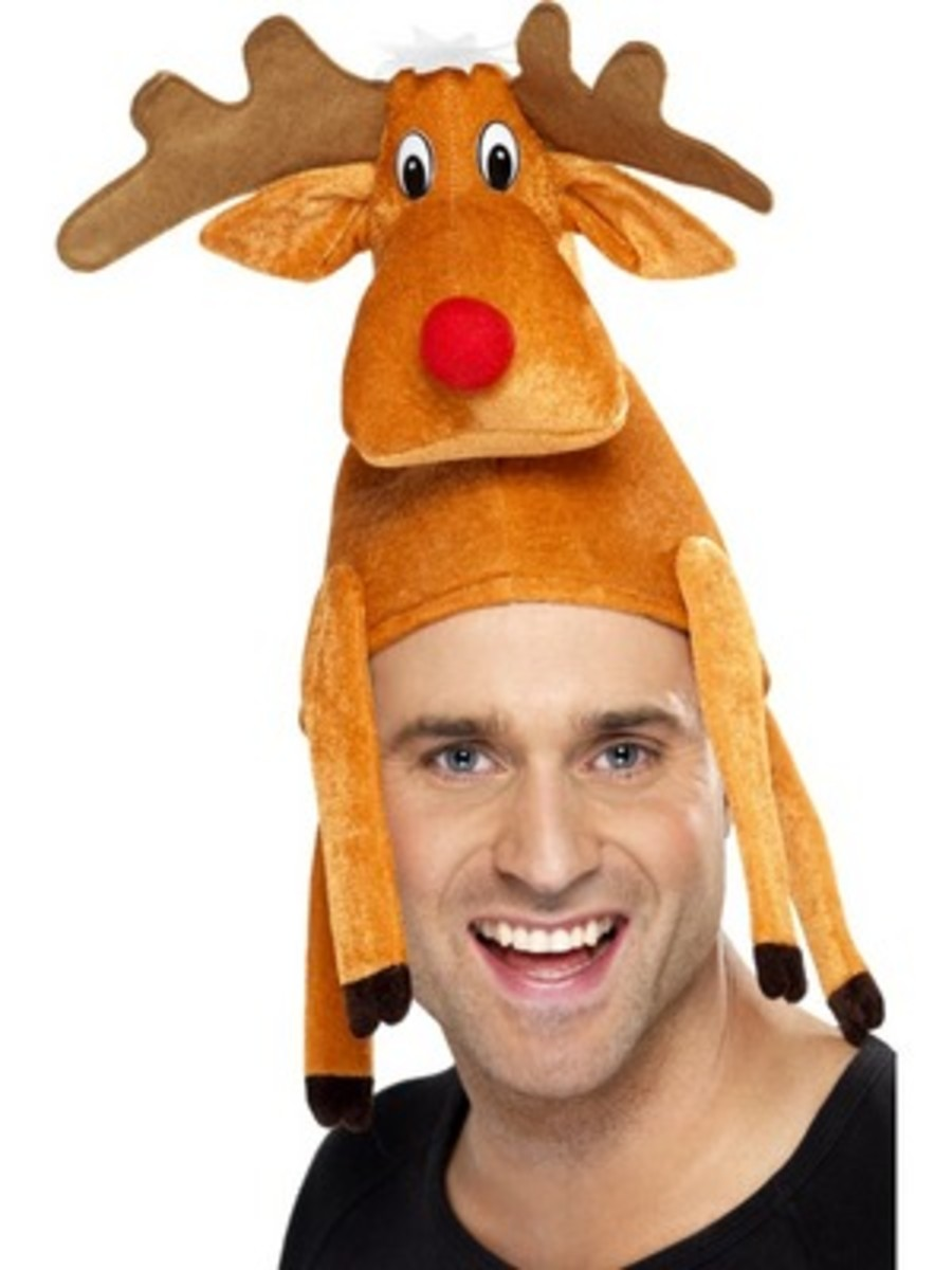 Christmas Novelty Hats: Trees, Reindeer, Turkeys, Elves, and Other ...
