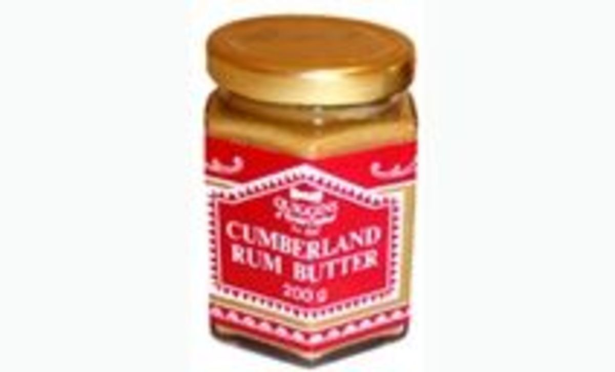 Cumberland Rum Butter traditional Christmas recipe.