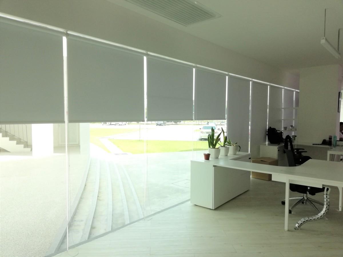 Installation of roller blinds