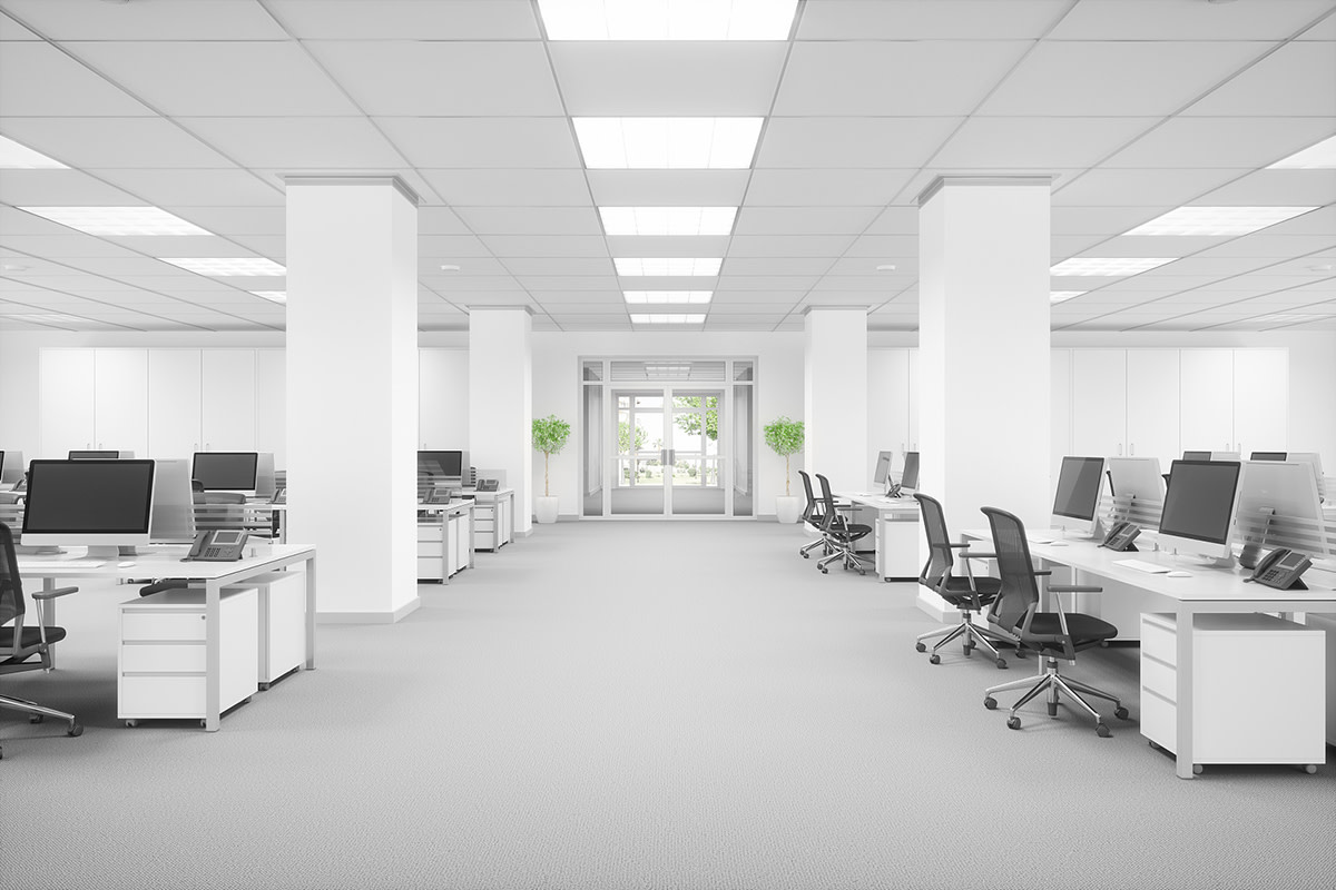 Replacement of fluorescent lights with LED lights