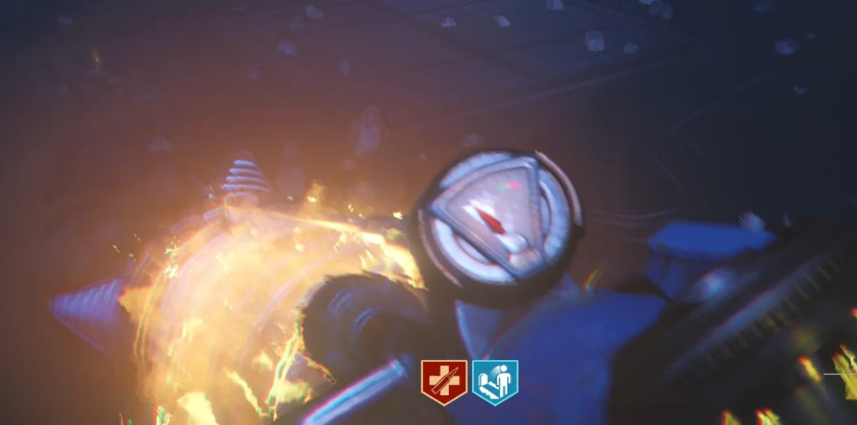 The gun will light up when you have a crystal properly loaded.