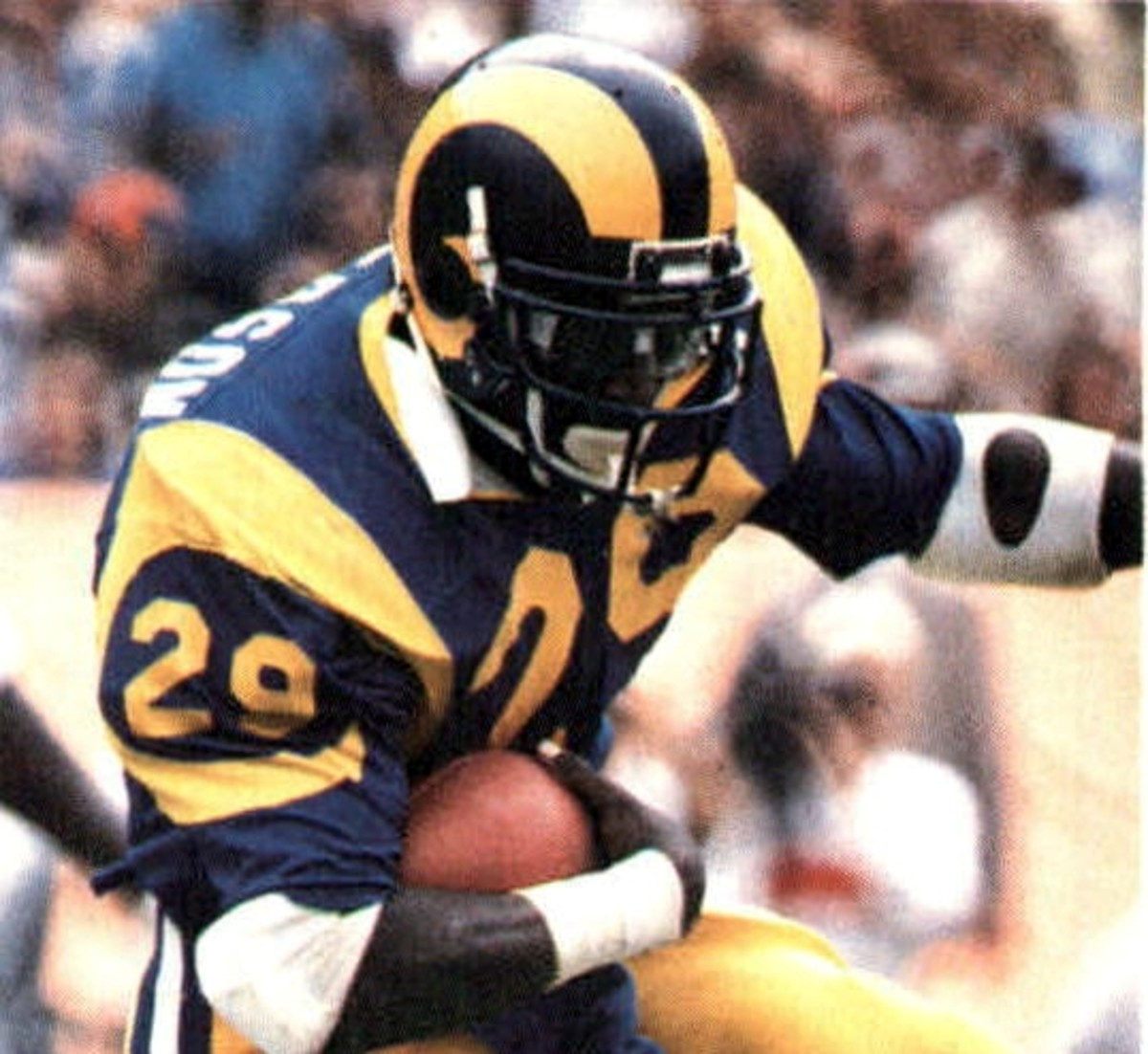 Eric Dickerson holds multiple NFL records, but he was never a Super Bowl champion.