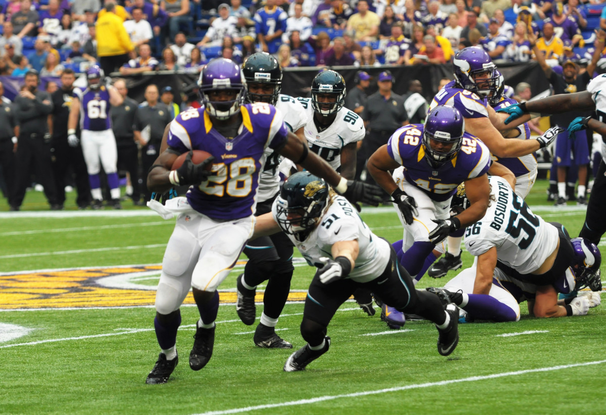 As one of a handful of NFL rushers to ever amass 2,000 yards in a season, Adrian Peterson is one of the best running backs never to win a Super Bowl.