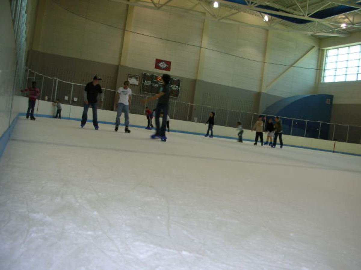 Grab your ice skates and head out to Daytona Ice Arena