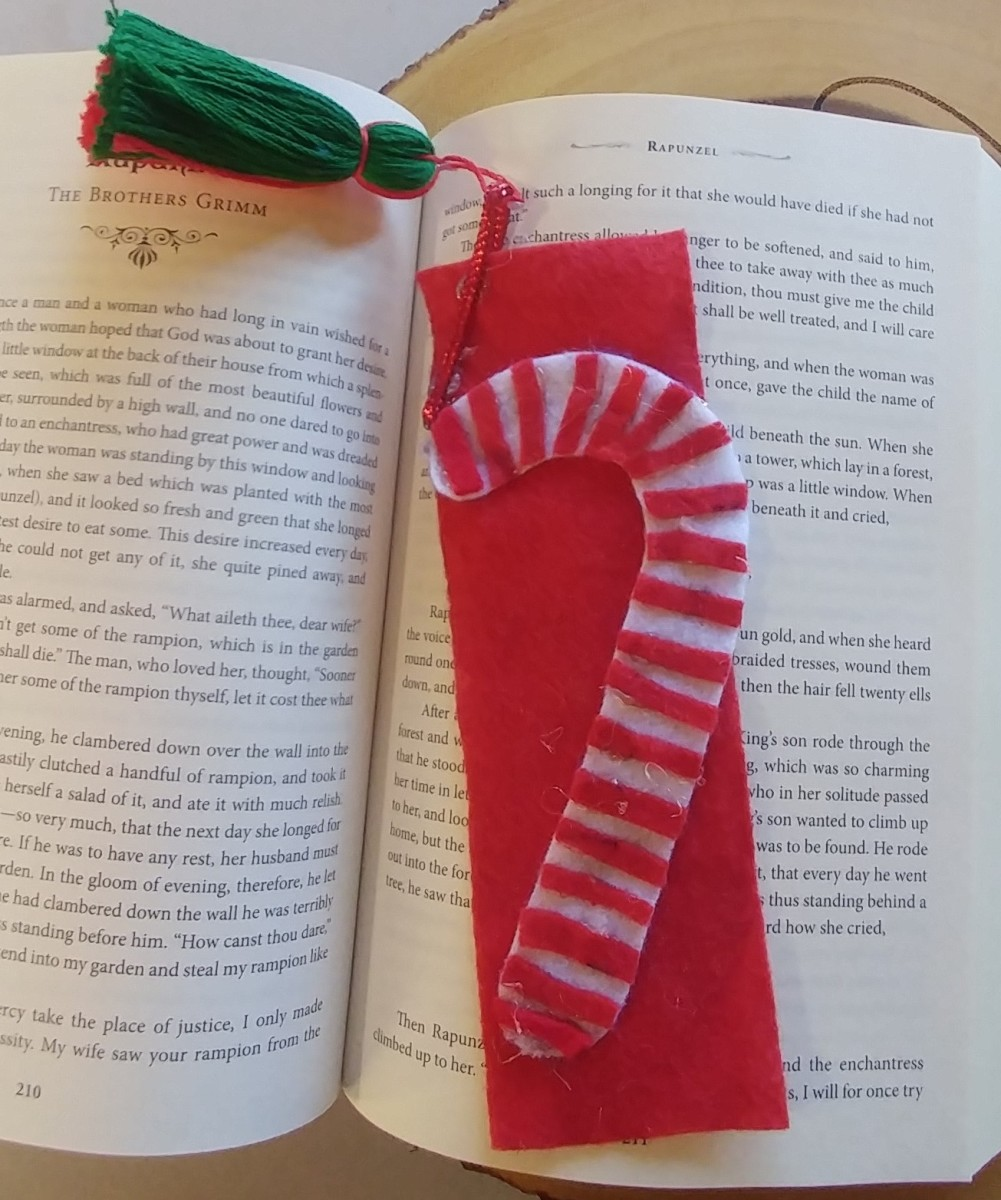It may be placed between the pages of a book, to mark what has been read.