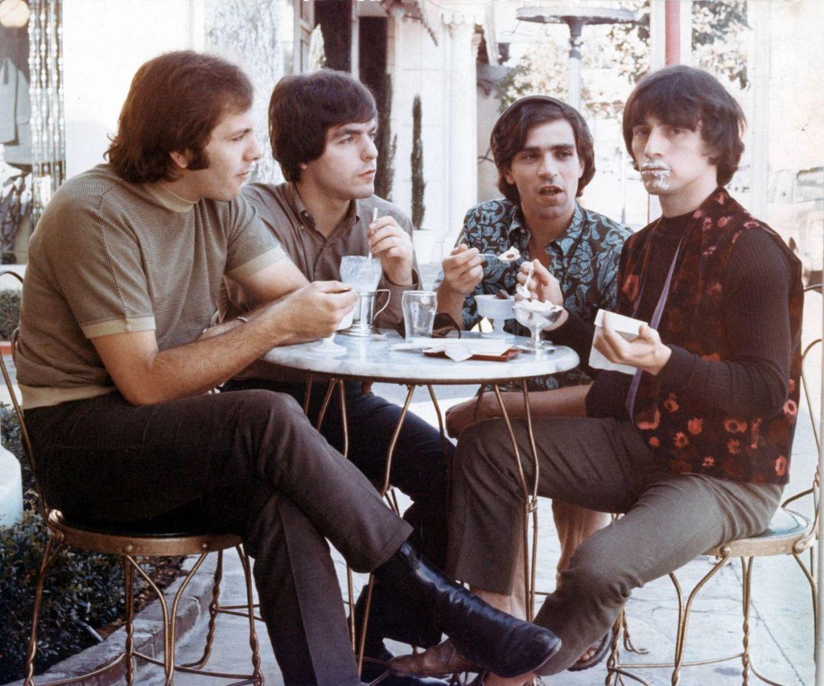 Gene Cornish (left) with The Rascals