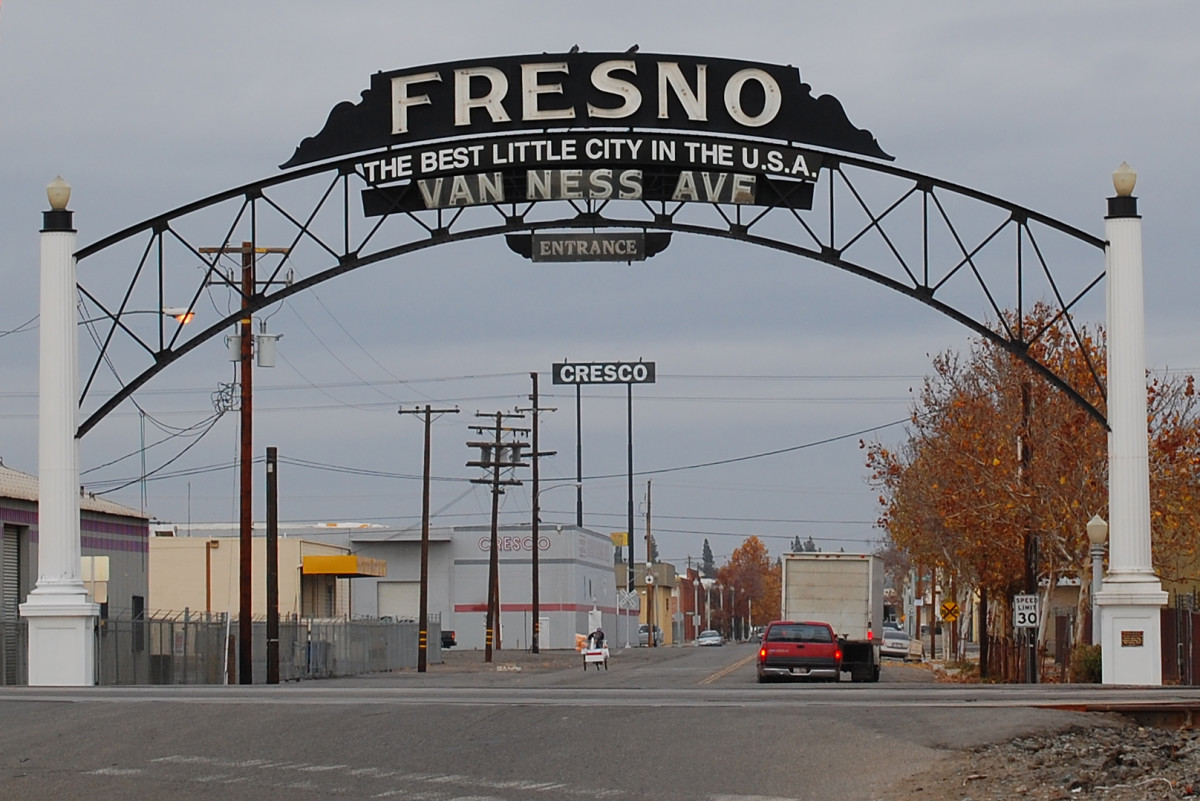 Fresno is one of the world's largest agricultural producers.