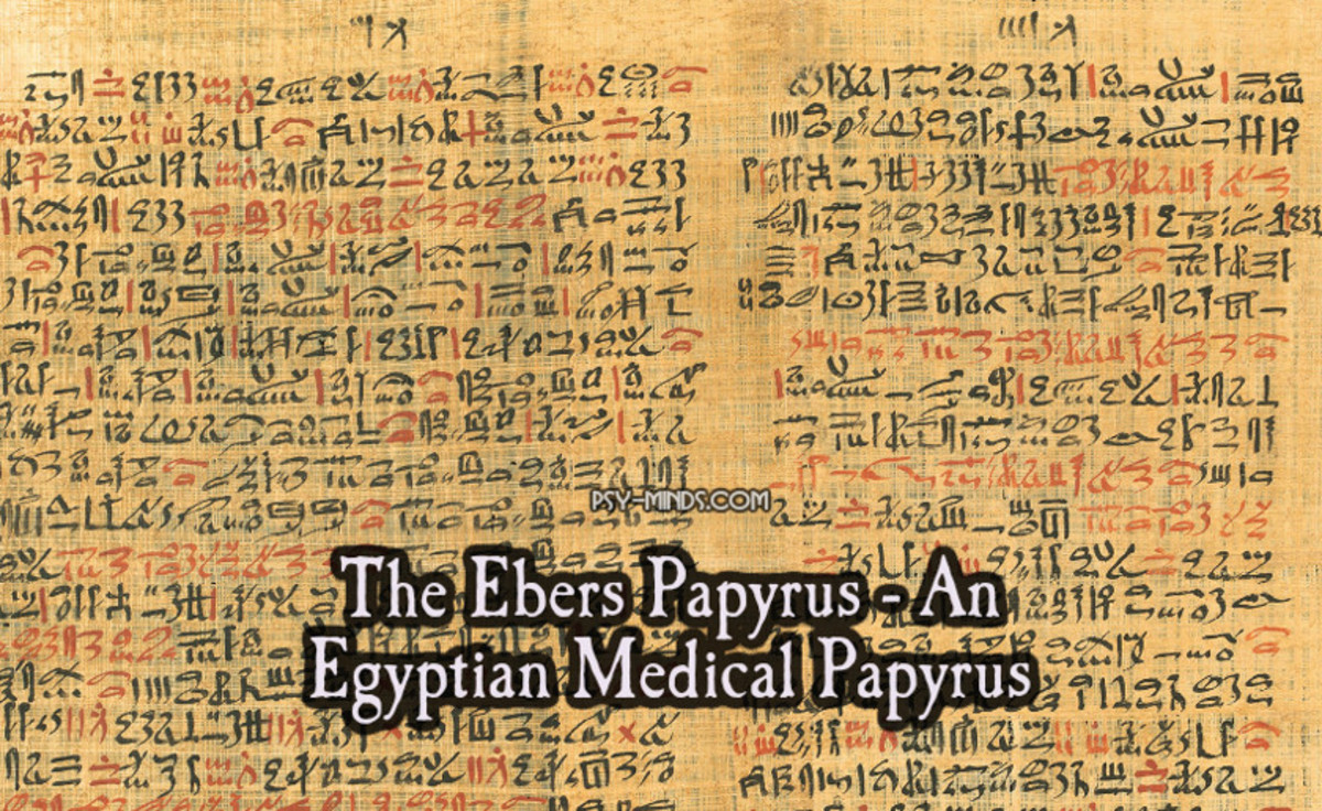 Ebers Papyrus of Egypt