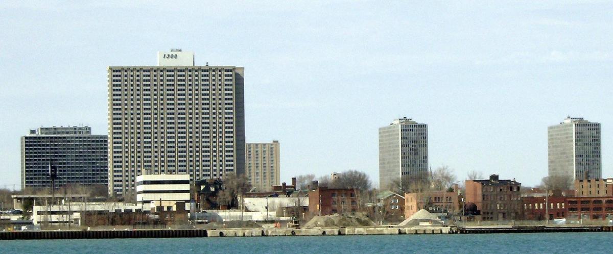 Mies van der Rohe and Lafayette Park, Detroit