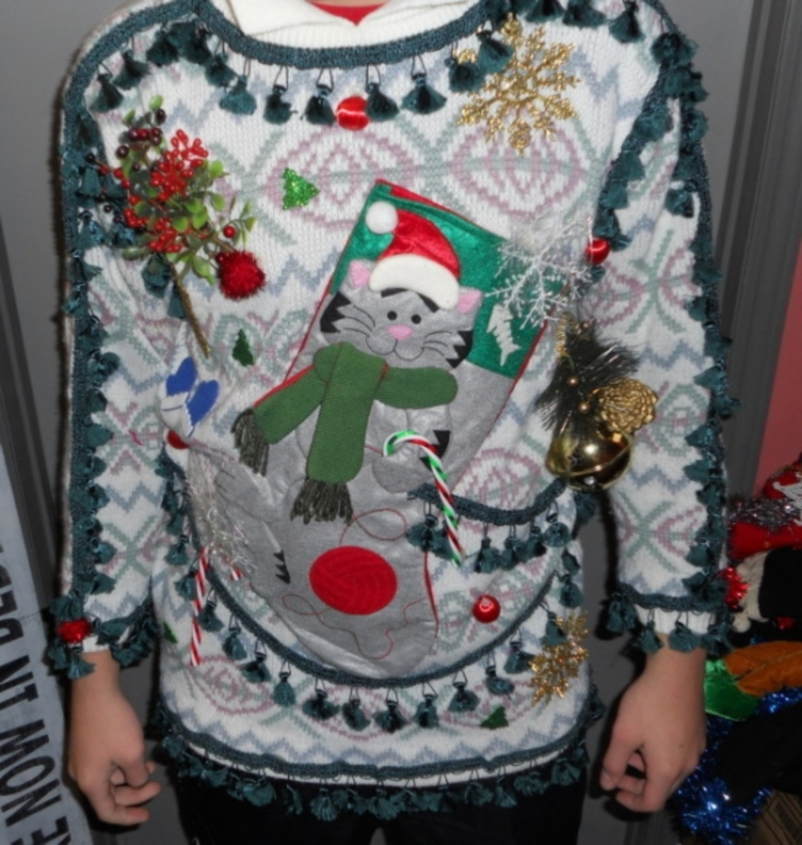 Click the eBay link below to see more Vintage Ugly Christmas Sweaters for inspiration or purchase