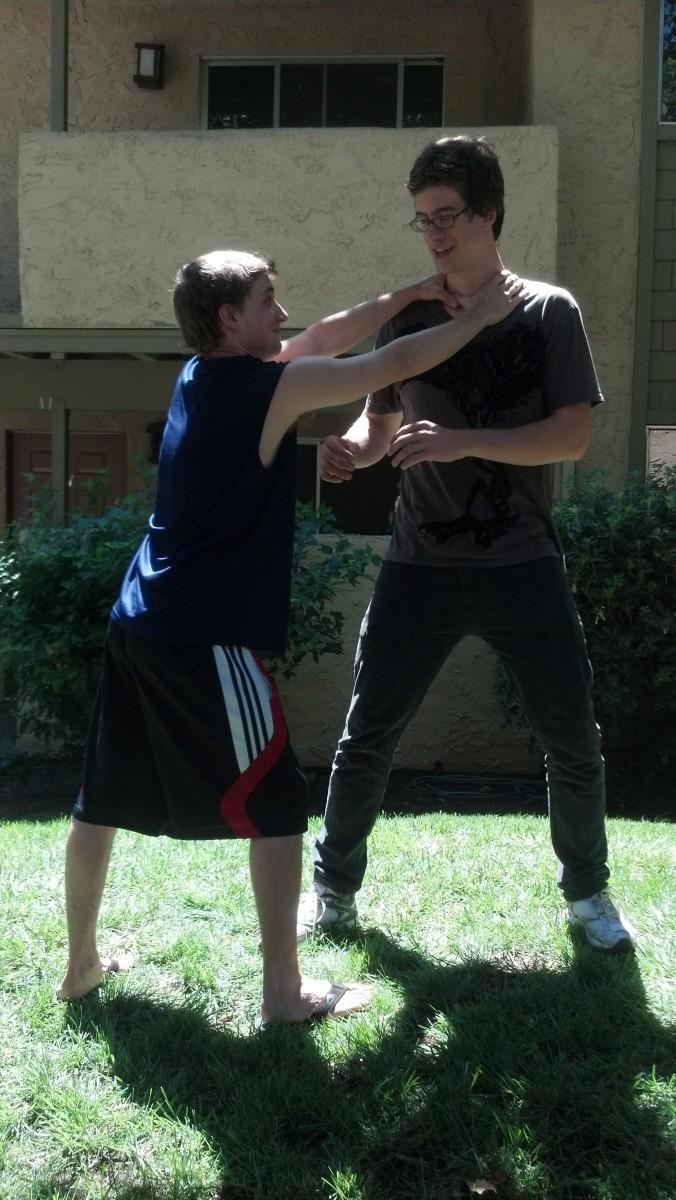 basic self defense techniques pdf