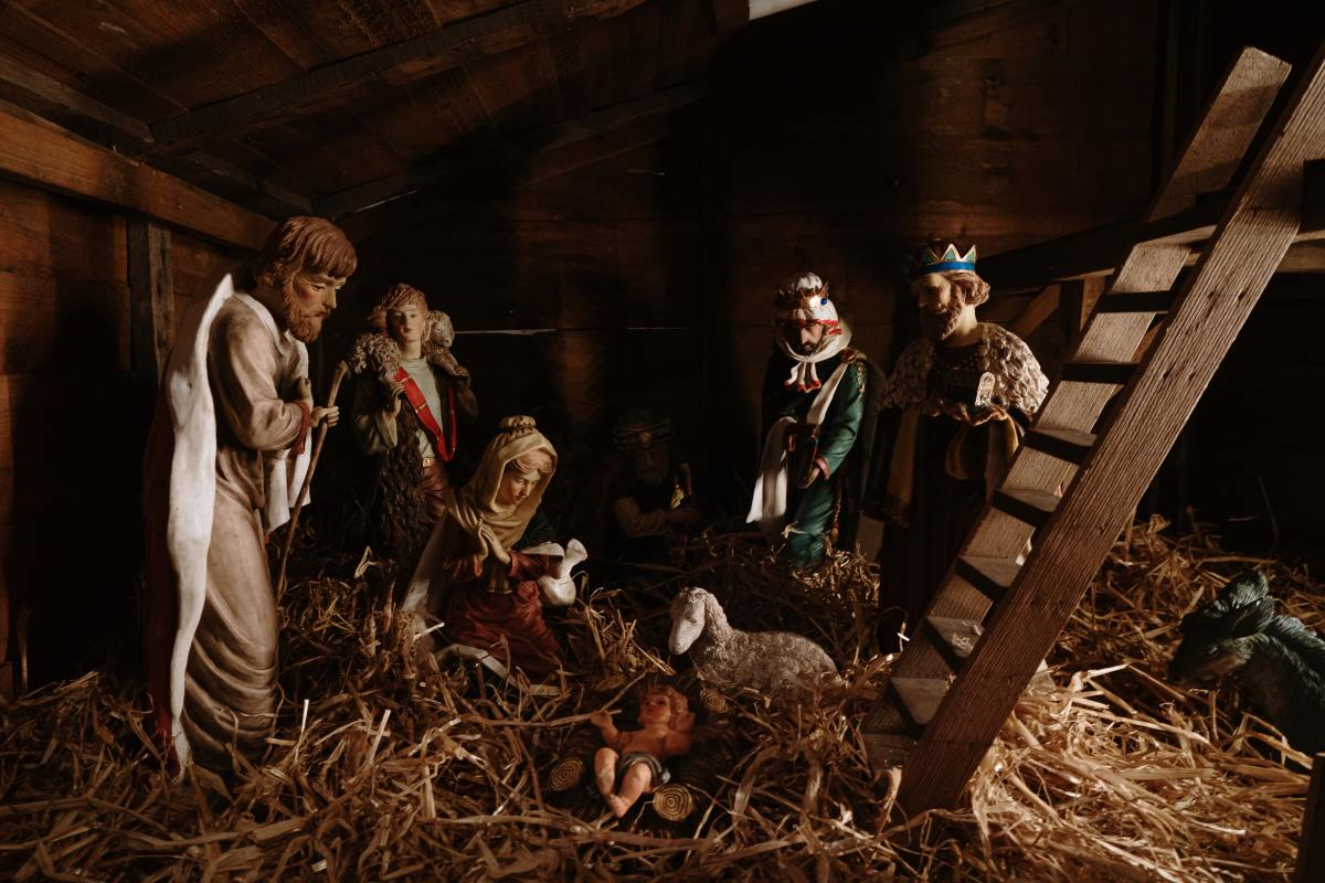 While the wise men re often depicted in nativity scenes alongside Mary, Joseph, and Jesus, they likely did not actually visit them until a year or more after the birth.