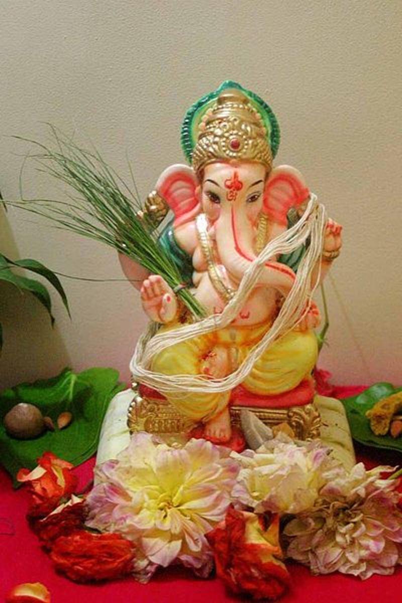Ganesha, el dios hindú