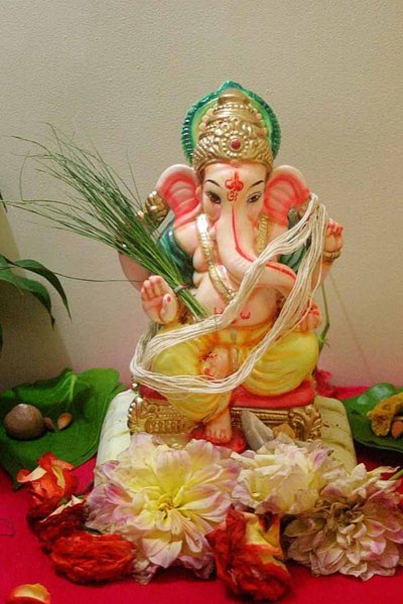 Ganesha, The God of Good Beginning and Prosperity