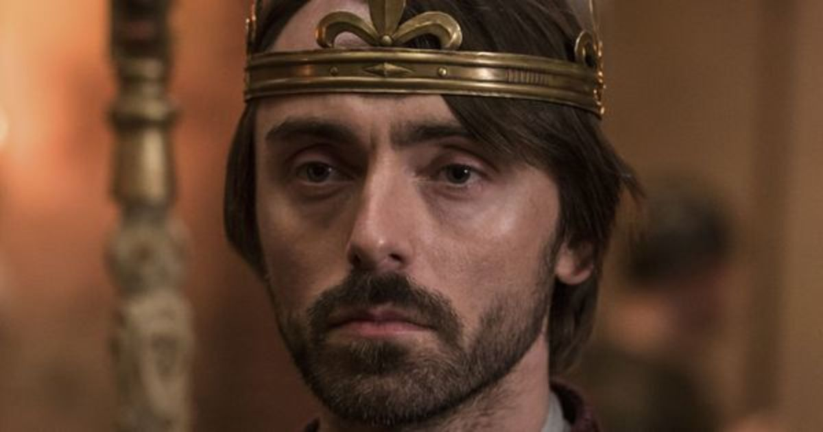 David Dawson as King Alfred in The Last Kingdom