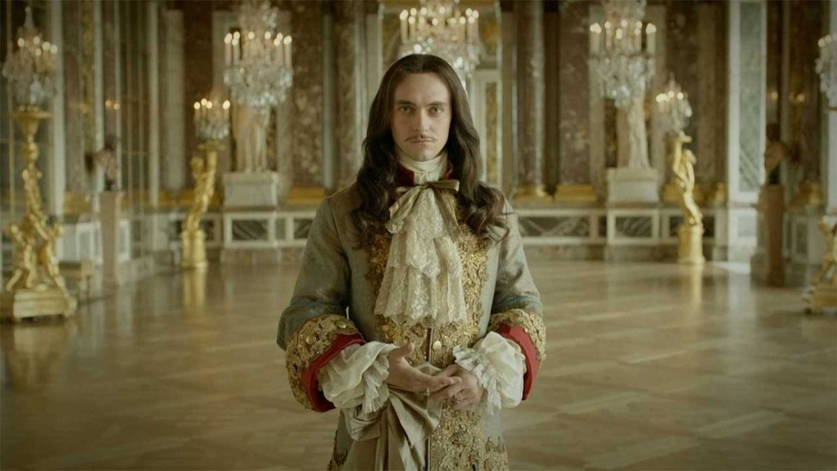 George Blagden as King Louis XIV