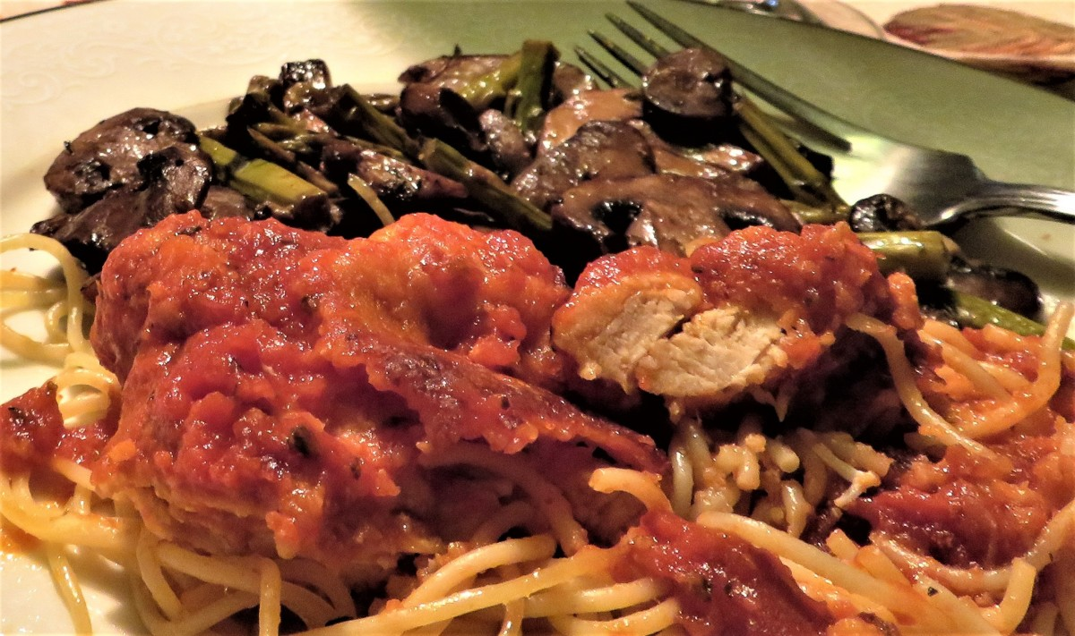 Chicken Parmesan: Dot's Delicious Taste of the Midwest Recipe