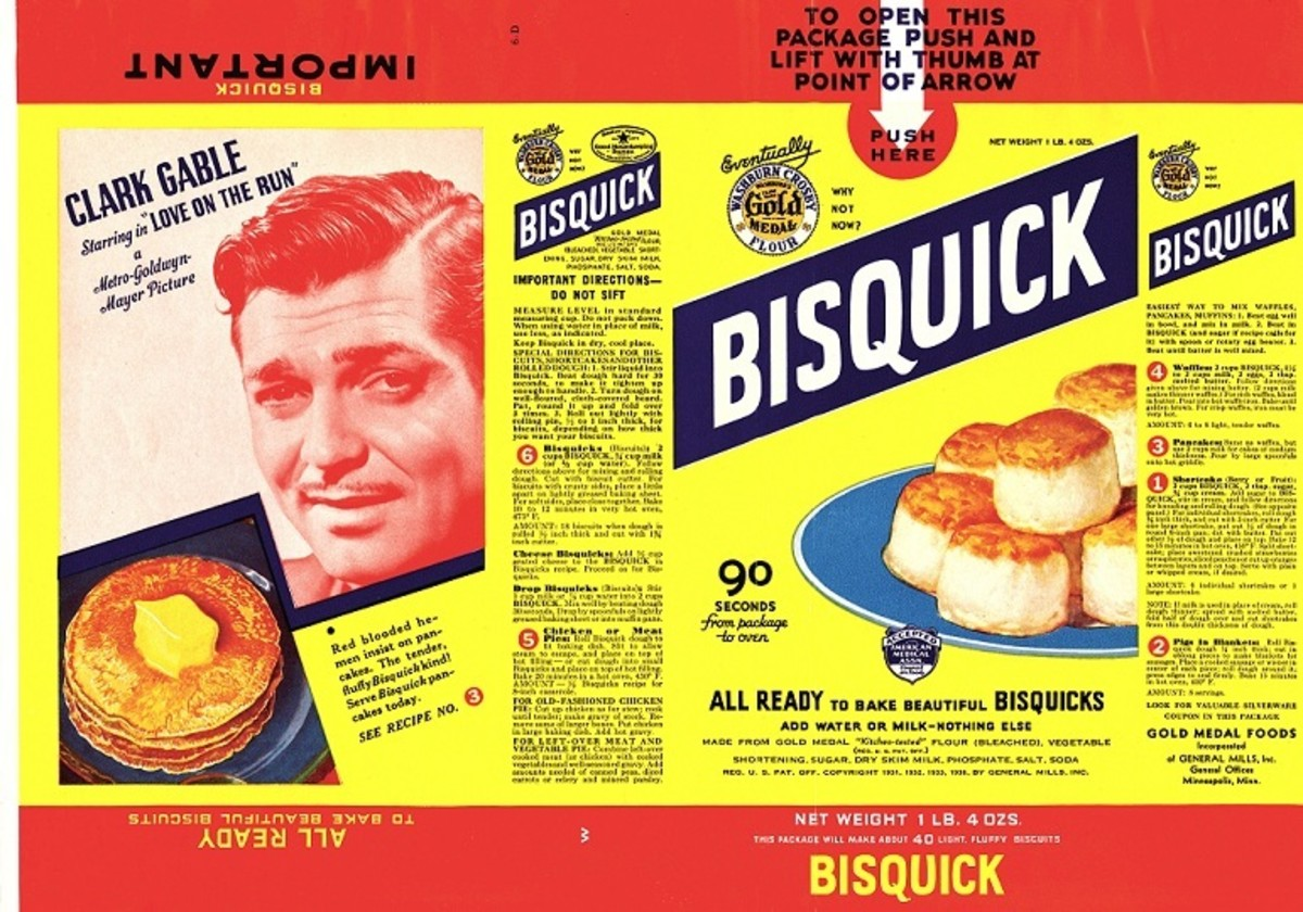 In 1958, a 40-ounce box of Bisquick cost 43 cents.