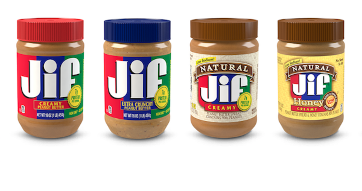 In 1958, Jif peanut butter appeared on grocery store shelves for the first time.
