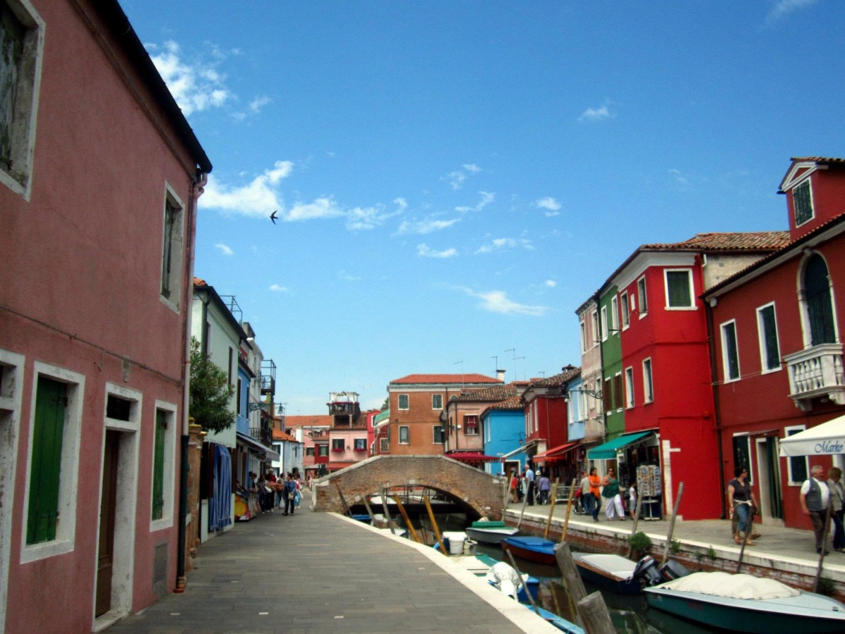 Colourful Murano, Italy