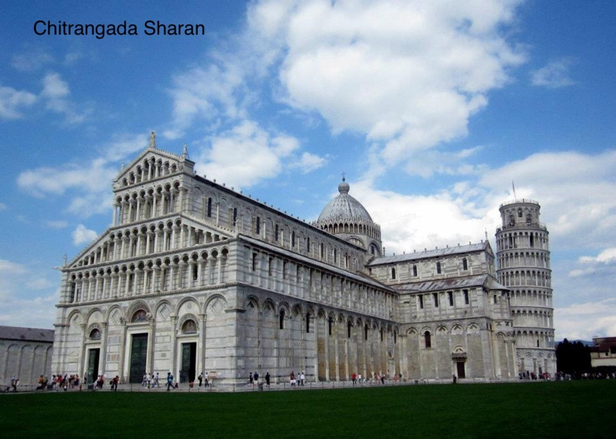 Monuments in Pisa, Italy