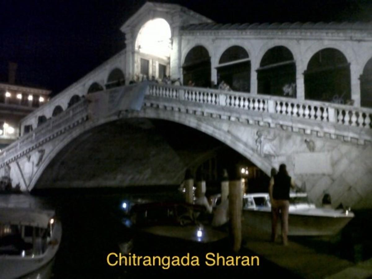 The bridge at Venice, Italy