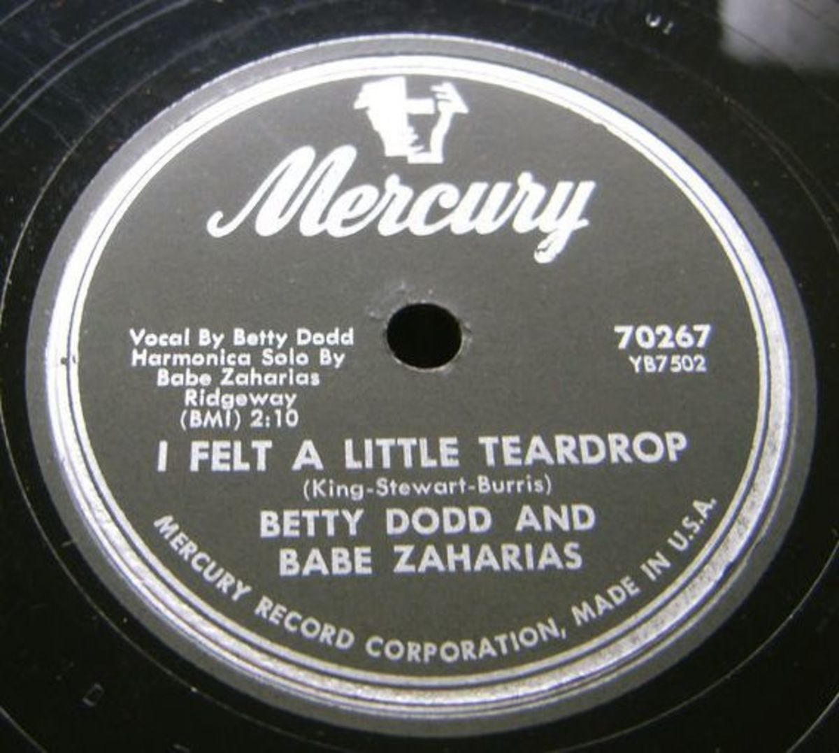 Babe Didrikson Mercury record label