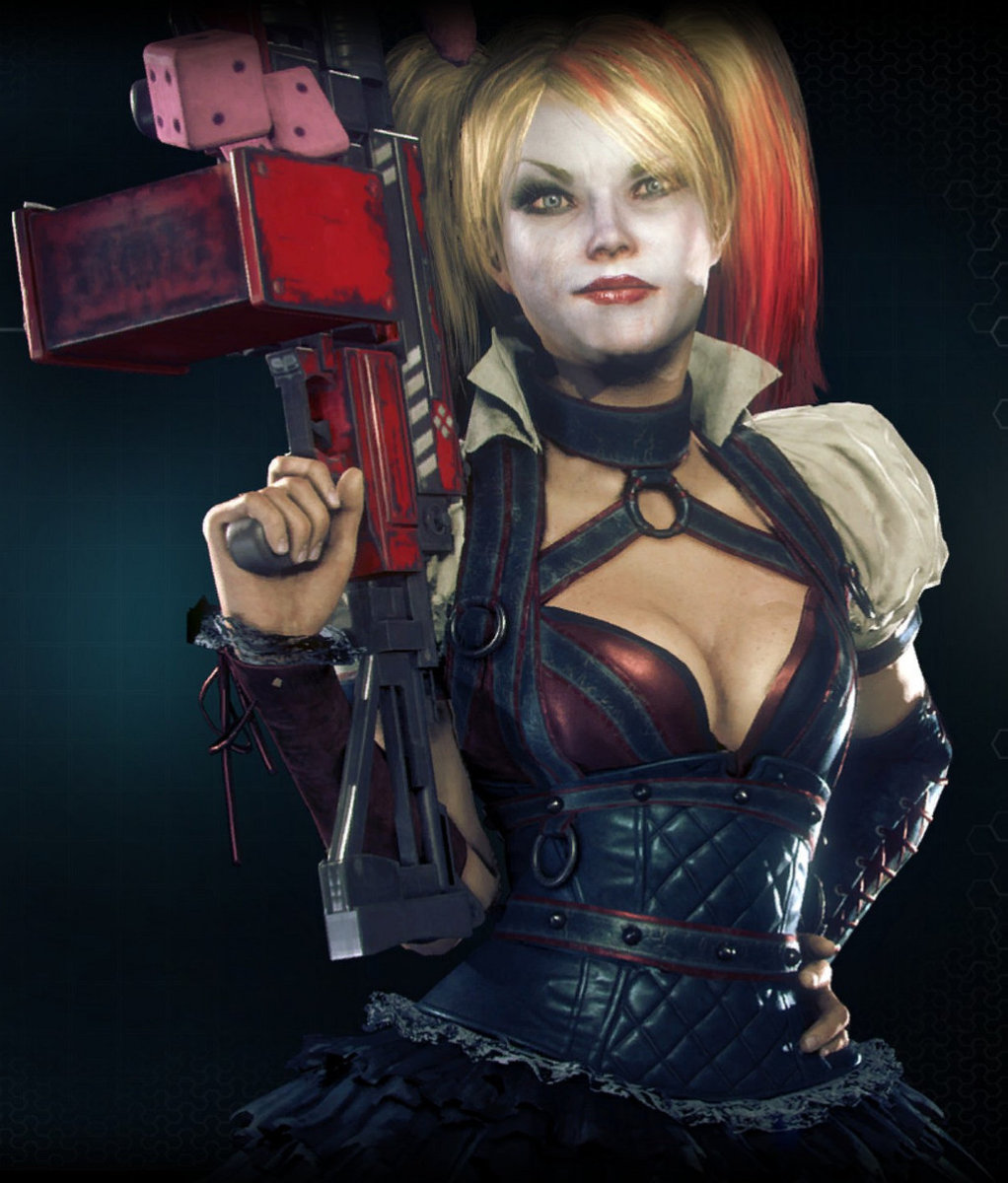 The gorgeous Harley Quinn.
