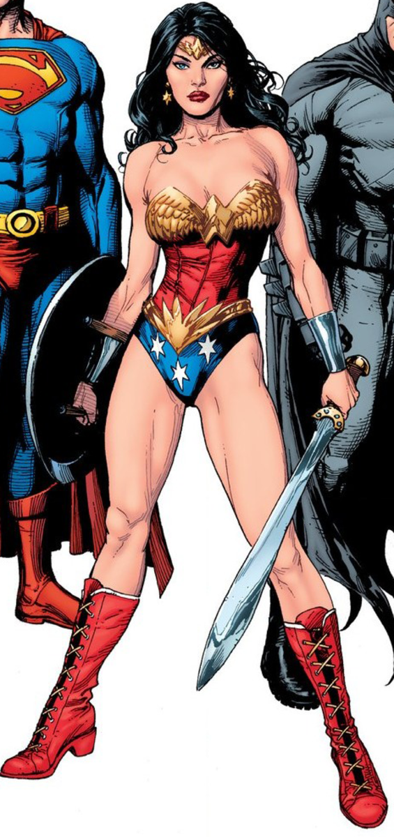 Wonder Woman; DC Comic's sexiest and most attractive character of all time.