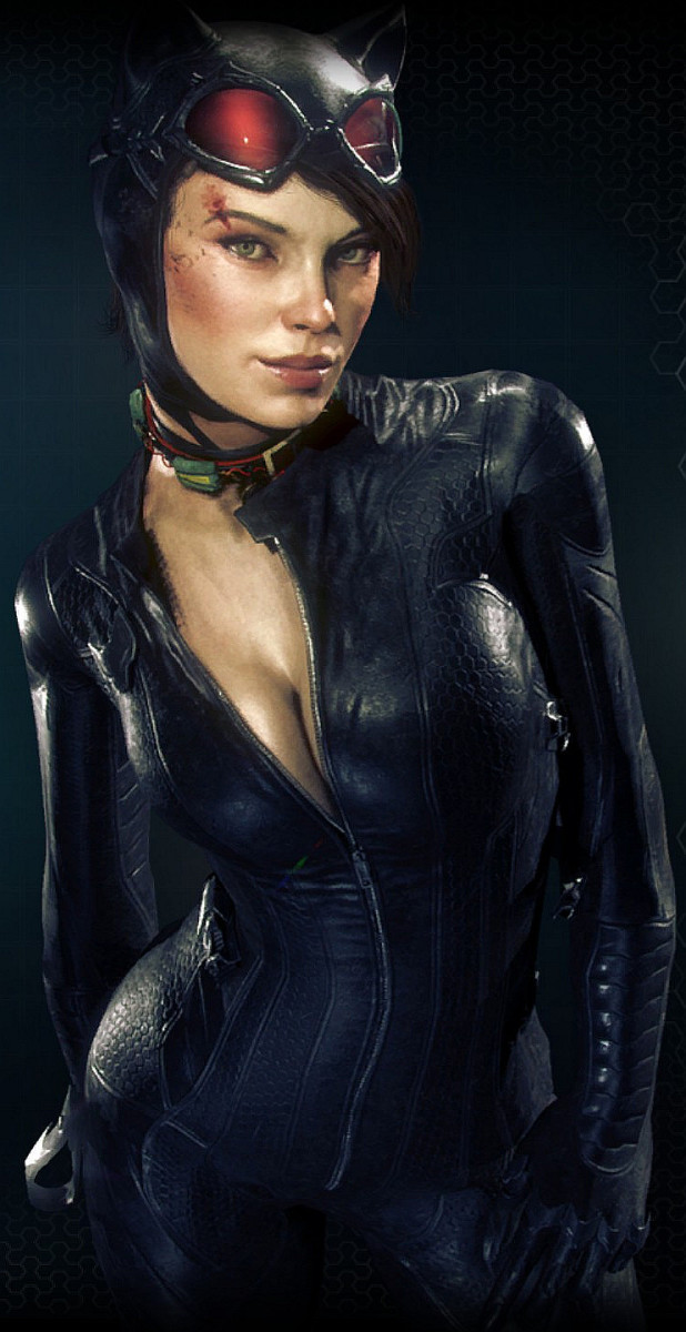 Selina Kyle, also known as Catwoman.