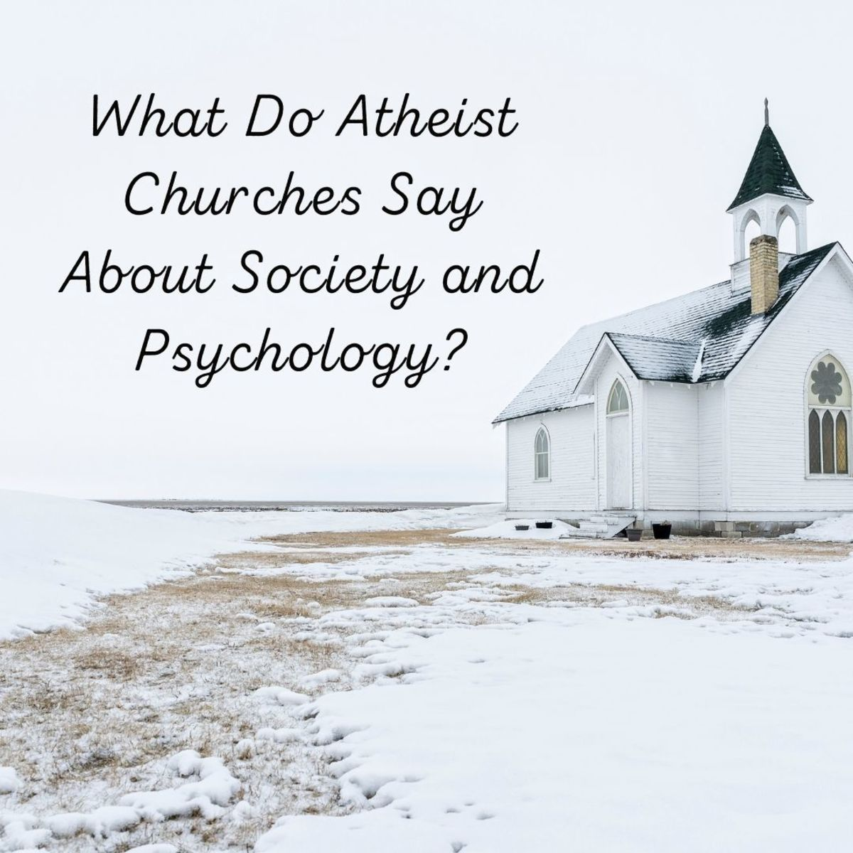 What is the significance of atheist churches?