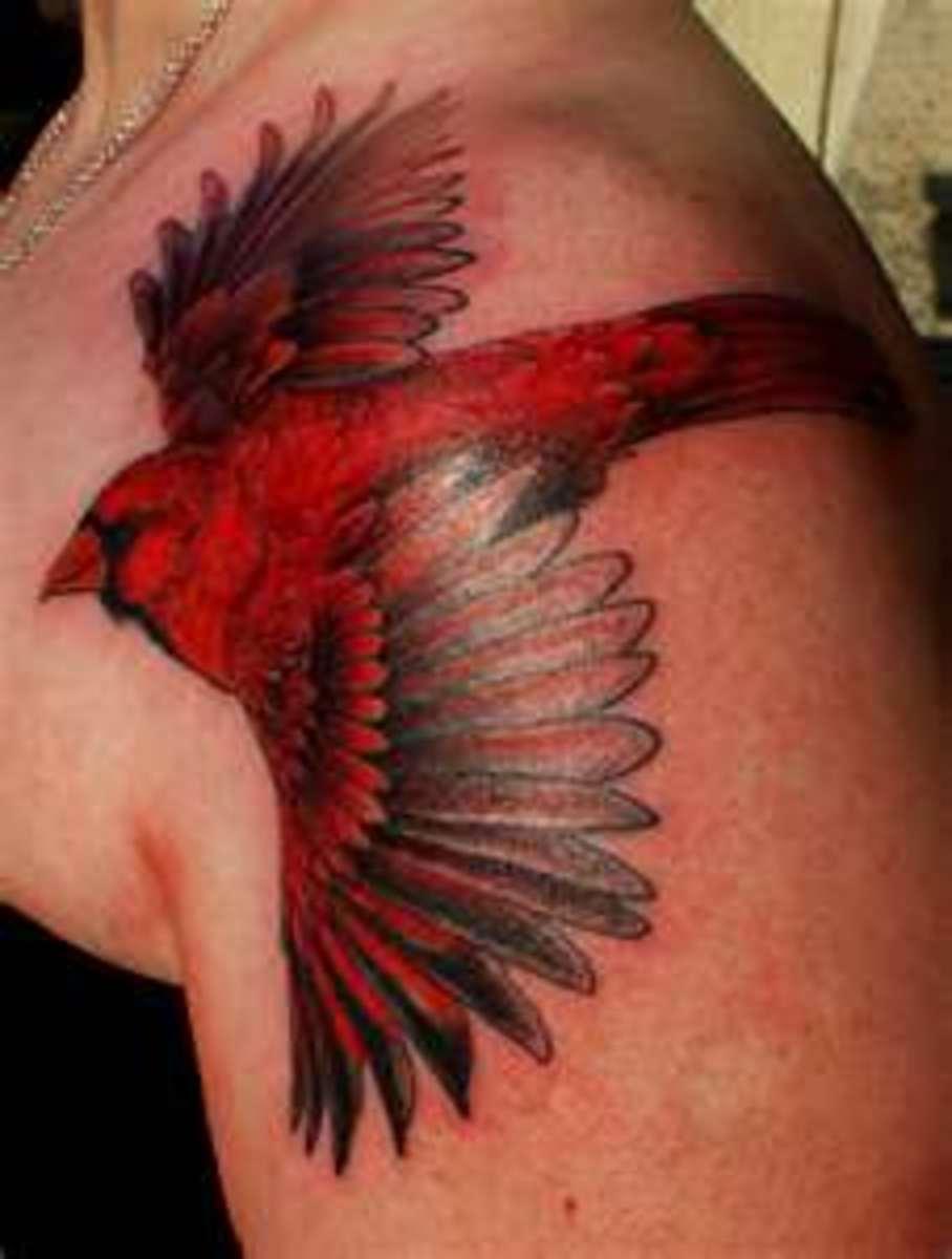 different cardinal tattoo